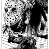 "Ken Kirzinger as Jason Voorhees in ""Freddy vs. Jason"""