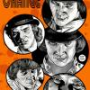 Drawing for Malcolm McDowell who played Alex DeLarge in A Clockwork Orange